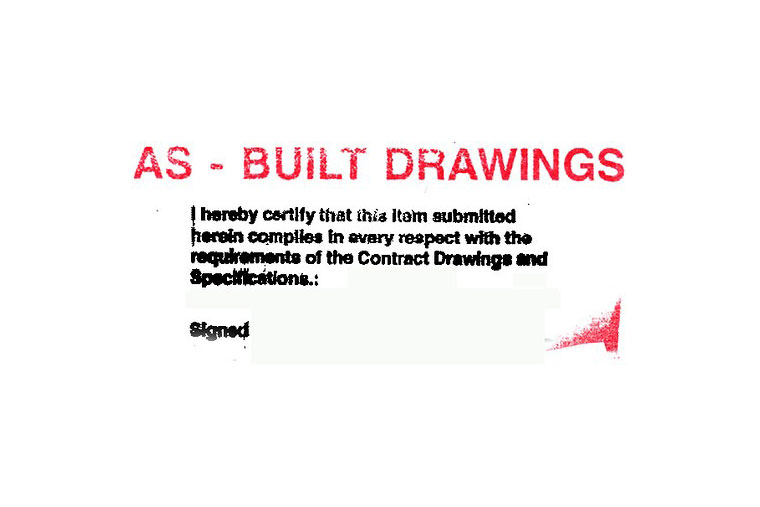 As Builts Are A Type Of Technical Drawing Generated After Construction And Installation