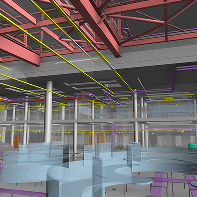 Rail Operations Centre electrical BIM
