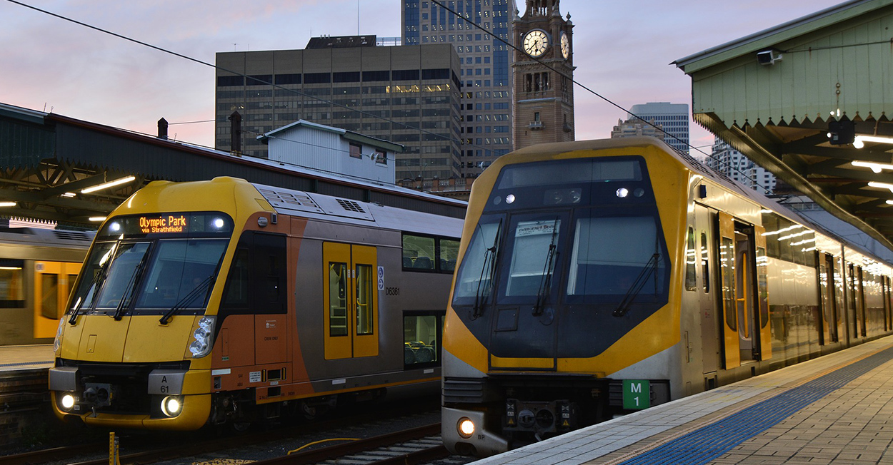 The Sydney Trains network is expanding