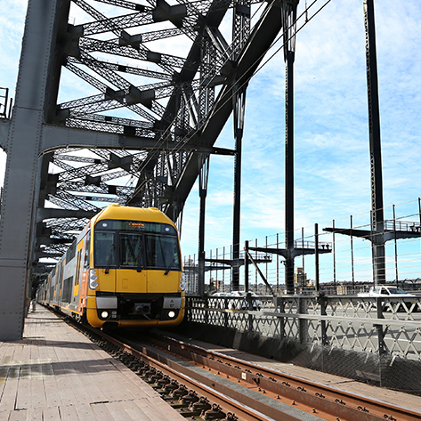 Sydney Trains keeps the city on the move